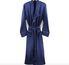 Pijamas y batas de hombre de manga larga de color principal azul