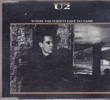 U2-Where The Streets Have No Name cd maxi single
