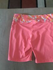 EUC Women's Orange Old Navy Active Shorts Size Large