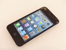 Apple iPod Touch 4. Generation 8GB Schwarz A1367 gebraucht Sprung #HDT75