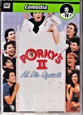 PORKY'S 2: AL DÍA SIGUIENTE de Bob Clark. Tarifa plana en envío dvd España 5 €