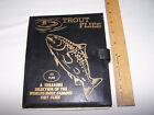 20 Dry Fishing Flies Vintage with display box