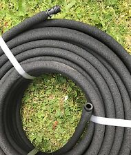 """Leeaky 100M Water Weeper Soaker Hose 12MM / 1/2"""" With Fittings MADE IN AUSTRALIA"""