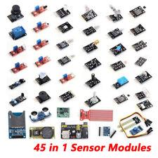 45 In 1 Sensor Modules Starter Kit Diy For Arduino Upgrade Sensor Kit