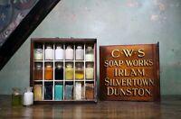 Early 20th Century Edwardian Travelling Tradesman Salesman's Soap Sampler Curio