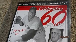 "JOE NUXHALL ""Nuxie"" Signed Reds 18""x24"" Baseball Photo/Poster -JSA Authenticated"