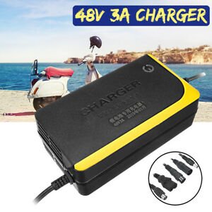48V 3A Charger Lithium Battery for Skateboard Single-wheeled Electric