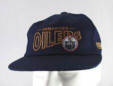 Edmonton Oilers Blue NHL Baseball Cap Snapback