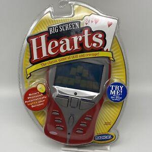 RADICA BIG SCREEN HEARTS ELECTRONIC HANDHELD HAND HELD GAME BRAND NEW