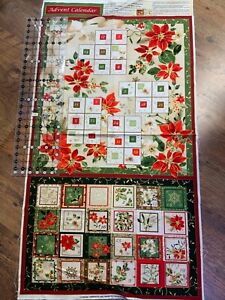 Advent Calendar panel(102-499)23.5 wide x 24.5in length approx (when finished )