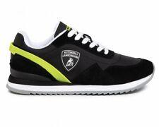 Lamborghini E0XVBSA1 71469 Lace Up Mens Trainers Black Sneakers