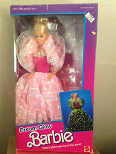 1986 Dream Glow Barbie doll ~ NRFB ~ acceptable condition