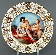 Vitrinenteller mit mytholgischer Szene, Vernus Merkur und Amor, Akt Darstellung