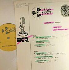 RADIO SHOW: LIVE TRACKS 7/30/84 THOMAS DOLBY, TOM PETTY, FOREIGNER, DOOBIE BROS