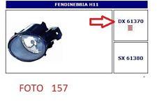 61370 FARO FENDINEBBIA (FOG LAMPS) DX RENAULT CLIO-ESPACE-KOLEOS-LAGUNA-MASTER