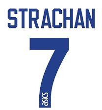 No 7 Strachan Leeds United Home 1993-1994 Football Nameset for shirt