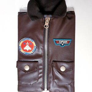 Top Gun Special Collectors Edition DVD Leather Jacket Sleeve Slip Cover PAL R4