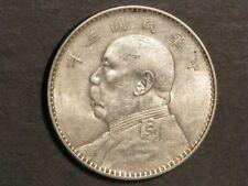 CHINA-REPUBLIC 1914(YR3) 1 Dollar Silver Crown AU-UNC