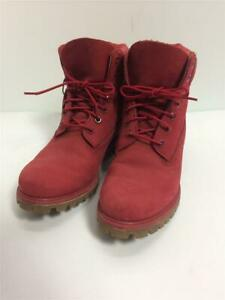 Timberland Trekking Us8.5 Suede 6Inch Premium  Red Size US8.5 Boots
