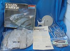 Monogram Battlestar Galactica Cylon Raider Model With Box 1978 Vintage VTG BSG