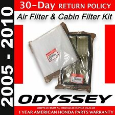 Genuine OEM Honda Odyssey Air & Cabin Filter Pack 2005 - 2010