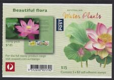 Australia 2017 Water Plants (Lotus Lily) booklet Phil 901790 B746