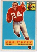 1956 Topps #110 Joe Perry VG-VGEX+ San Francisco 49ers FREE SHIPPING