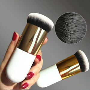 HOT Chubby Pier Foundation Makeup Brush in Professional Cosmetic White Brush😍🔥