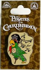 """Disney Cruise Line PIRATES of the CARIBBEAN """" A Parrots Life for Me """" Pin"""