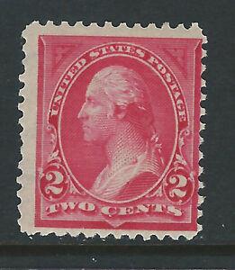 #265, 2 cent Washington, Perf. 12 DLWM, MNH