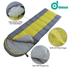 Envelope Cold Weather Waterproof Sleeping Bag 4 Season Travel Hiking Ultra-light