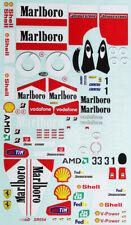 Neuf sous emballage TAMIYA 51523 FERRARI F2012 De Rechange Autocollant Set F104//58559 FERRARI F2012