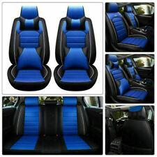 11× Auto Sitzbezüge Sitzbezug Schonbezüge Universal 5 Sitze Komplettset PU-Leder
