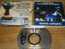 rare CD ADAMA DRAME les percussions de STRASBOURG tambour DJEMBE africa AFRIQUE