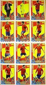 Match Attax Euro EM 2012 - Spanien Karte aussuchen