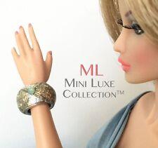 Doll Jewelry - Silver Glittery Bracelet- Fashion Royalty dolls, Dynamite Girls