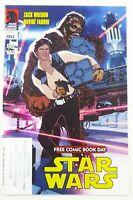 FCBD STAR WARS/SERENITY (2012) #1 Adam HUGHES HAN SOLO Cover w/STAMP