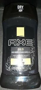 AXE Gold All Day Dry Oud Wood & Dark Vanilla Antiperspirant Deodorant Stick 2.7