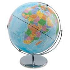 Advantus Corp. AVT30502 World Globe Blue Oceans 12 in. x 16 in. x 13 in. Silv...