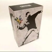 Bearbrick Medicom 2020 Banksy Flower Bomber 100% & 400% Set Be@rbrick Toy NEW