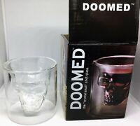 Fred and Friends Doomed: 'Crystal Skull' Shotglass Shot glasses Hand blown glass