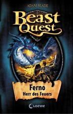 Ferno Herr des Feuers / Beast Quest Bd.1 von Adam Blade (2008, Gebundene Ausgabe)