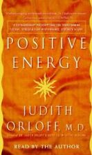 POSITIVE ENERGY By Judith Orloff MD Audio Book New Sealed