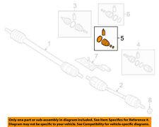 HYUNDAI OEM 15-18 Sonata-CV Joint Boot-Outer Left 49581C1000