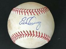 EVAN LONGORIA Signed HR Game Used 2008 ALCS Game 3 Baseball MLB STEINER RAYS