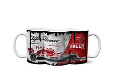 F1 Alfa Romeo Racing Orlen Distressed Look Mug And Coaster Gift Set