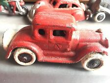 Vintage Cast Iron Car Toy Collectible