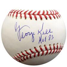 "George Kell Autographed Signed Mlb Baseball Tigers ""Hof 83"" Psa/Dna 1103"