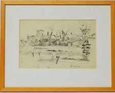 Zeichnung Nini Consolaro Italien Domegliara 1979 Sammlung Karl Schott 40 x 32 cm