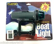 BOW LITE, BOAT CLAMP ON LIGHT, NAVIGATION LIGHT, GREEN / RED